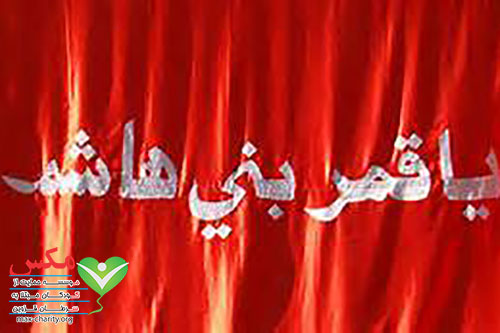 پرچم کربلا گنبد حضرت عباس قمر بنی هاشم